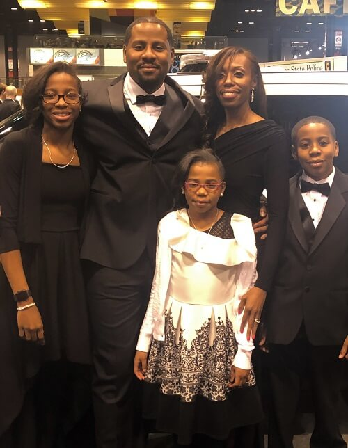 Jasmine Morris And Family