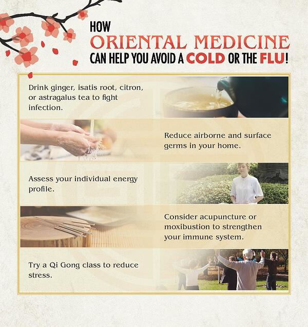 Oriental Medicine Tips for Cold and Flu Season